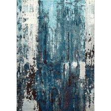 abstract haydee blue 8 ft x 10 ft area rug