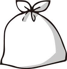 ごみ袋シルエット イラストの無料ダウンロードサイトシルエットac