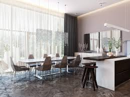 modern beaded chandelier over rectangle white table and contemporary dining chairs modern contemporary dining room chandeliers