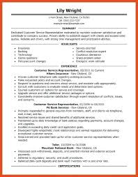 Customer Service Duties Resume Customer Service Representative Classy Resume Description For Customer Service