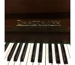 Piano droit ZIMMERMAN model 105 M - Pianos Schaeffer