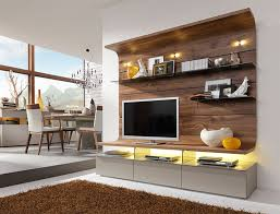 Attractive Contemporary Felino Wall Storage System/Opt LED/Choice Of Colour