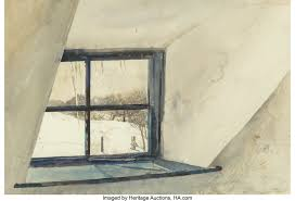 Andrew Wyeth (American, 1917-2009). Cold Spell, 1965. Watercolor ...