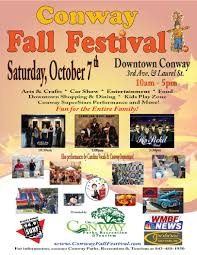 Fall Festival Flier 811 2017 Fall Festival Flyer Final Conway Chamber Of Commerce