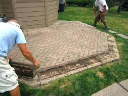patio pavers s brick cost brick patio cost patio pavers cost per square foot installed
