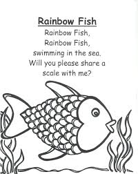 Small Picture outstanding Marvelous Rainbow Fish Coloring Page Fee Printable