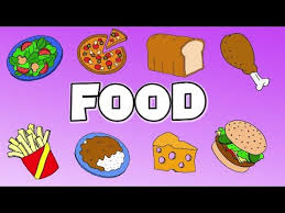 Food Flash Cards Learn Food Vocabulary Talking Flashcards Youtube