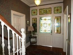 Entrance Hall Stained Glass Panels Image Number Of Vestibule Doors With Front  Door Vestibule