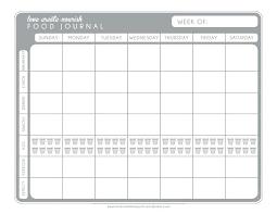 A Free Printable Weekly Food Exercise Journal Log Sheet Workout Logs