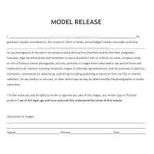 Actor Release Form Amazing Free Model Release Form Photography Erkaljonathandedecker