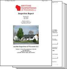 home inspection report template wisconsin home inspection report samples