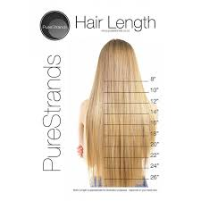 Clip In Hair Extension Length Chart Purestrands Clip In Hair Extensions Are An Easy Way To