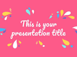 Presentation Themes Google Free Colorful Powerpoint Template Google Slides Theme With Organic