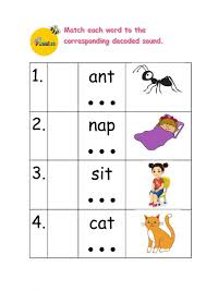 Worksheets, lesson plans, activities, etc. Jolly Phonics Exercise