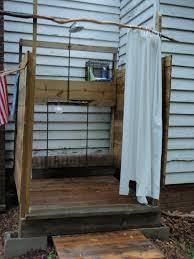 diy outdoor shower kits ideas