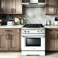 kitchenaid stove dual fuel range dual fuel range inch 4 burner dual fuel freestanding in white