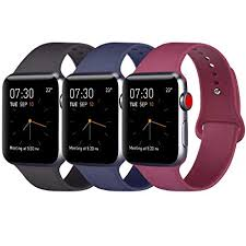 Apple Watch 4 Band Compatibility Chart Atup Compatible Apple Watch Band 38mm 40mm 42mm 44mm Women Men Soft Silicone Band Compatible Iwatch Series 4 Series 3 Series 2 Series 1