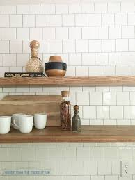 Mounting Floating Shelves How to Install Heavy Duty Floating Shelves for the Kitchen 55