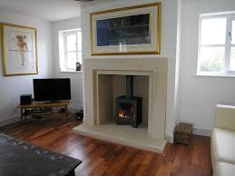 Brick Fireplace Designs Uk Contemporary Plain And Simple Stone Fireplace Templestone