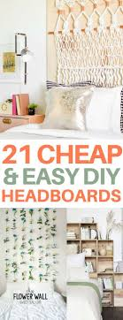 Cheap Diy Headboards Best 20 Dorm Room Headboards Ideas On Pinterest College Dorm