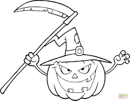 Halloween ~ Scary Halloween Coloring Pages For Kids Free ...