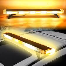 Led Warning Lights For Trucks 47inch 88w Led Emergency Strobe Lights Bar Flash Warning Lamp Yellow White For Car Truck Suv