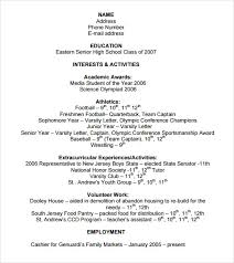 Resume Template Student College Free 8 Sample College Resume Templates In Free Samples