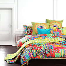 Bohemian exotic bedding, colorful modern duvet cover, queen king ... & Bohemian exotic bedding, colorful modern duvet cover, queen king size bed  sheet, european unique active print comforter set,4pcs-in Bedding Sets from  Home ... Adamdwight.com