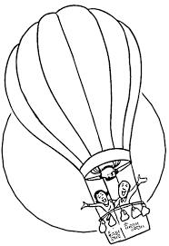 Nos Jeux De Coloriage Montgolfiere Imprimer Gratuit