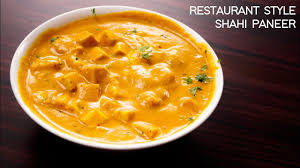 shahi paneer recipe restaurant style cote cheese curry cookingshooking