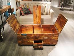 amazing rustic trunk coffee table fabrizio design wonderful within ideas 16