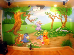 Winnie The Pooh. Kids Room PaintMural IdeasWall ...