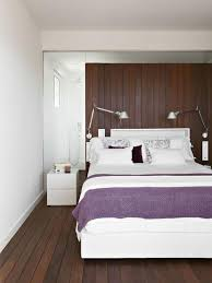 purple modern bedroom designs. Modern Bedroom Purple Bedcover Bedlamp Wooden Floor White Wall Purple Modern Bedroom Designs