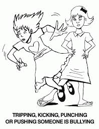 Anti Bullying Coloring Pages High Quality Coloring Pages