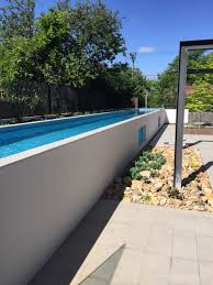 Side of above ground lap pool - 1.2m height means you do not need pool
