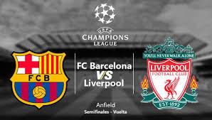 ver hoy barcelona vs liverpool en vivo