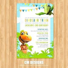 train invitation template free dinosaur birthday invitation template lovely free invite beautiful