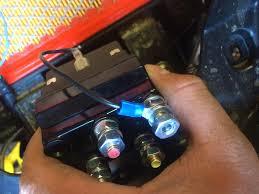 tera 45 winch install Can-Am Maverick Stator Wiring Can Am Maverick Winch Wiring Diagram #17