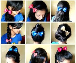 Bows In Hair Style hair styles with bows svapop wedding cute bows hairstyles for 7720 by wearticles.com