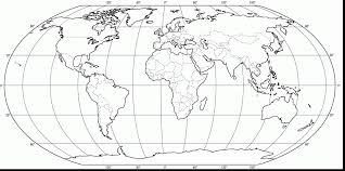 Map Of The World For Kids Coloring Pages Home New Page ...