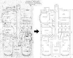 residential building floor plan autocad