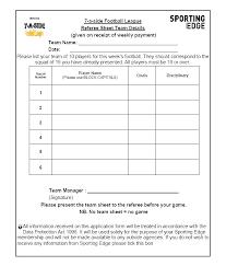 Team Snack Schedule Template Team League Schedule Template Soccer Little Baseball