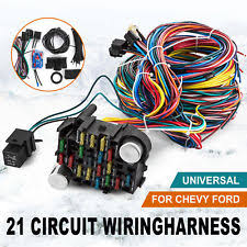 20 circuit wire wiring harness universal chevy ford dodge speedway Universal GM Wiring Harness 21 circuit wiring harness chevy mopar ford hot rods universal wire ez to install