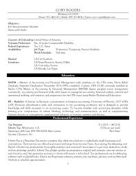 Accountant Objective For Resume Best Of Federal Resume Accountant For Linkedin