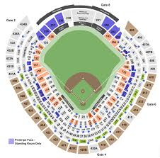 Yankee Stadium Seating Charts Info On Rows Sections And