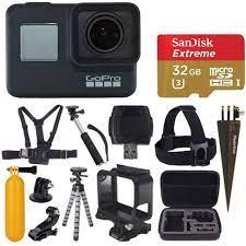 GoPro Hero7 Black Aksiyon Kamera ve Aksesuar Kiti