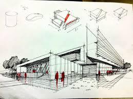 modern architecture sketch. For Architecture #معماري #معماران #طراحي #كانسپت #ايده #اسكيس. Conceptual SketchesArchitecture SketchesModern Modern Sketch
