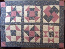 Quilted Items for Sale - Winters Heritage House Museum & This pretty pinks-and-blues quilt could work as a lovely quilt for laps,  cribs, or hang on your wall. (You would need to add a rod pocket) It is  pieced and ... Adamdwight.com