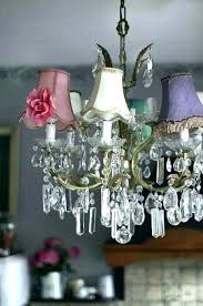 crystal chandelier with shade black drum 10 light chrome