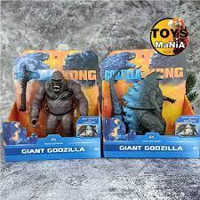 ของเล่นเด็ก Godzilla vs. Kong (2021) ก็อดซิลล่า ปะทะ คอง ยี่ห้อ  MONSTERVERSE พลาสติกทนทาน สำหรับสะสมและเล่นสนุก